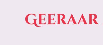 geeraar
